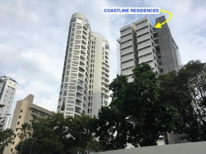 Coastline Residences Condo Showflat Location